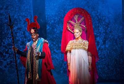 Verdi: Aida - English National Opera - Robert Winslade Anderson, Michelle DeYoung (photo Tristram Kenton)