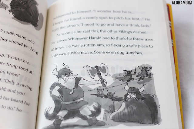 Throfinn the Nicest Viking and the Rotten Scots by David MacPhail gets 4.5 out of 5 stars in my book review of this middle grade fiction series. If you like silliness, and books like Diary of a Wimpy Kid, this is the book for you.  Funny book series boys in 2-4th grade would really enjoy. Alohamora Open a Book http://alohamoraopenabook.blogspot.com/ second grade, third, fourth