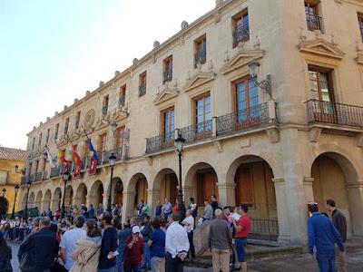 Ayuntamiento de Soria, en la Plaza Mayor