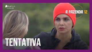 A Fazenda 12 - Tays critica  Luiza - Luiza e Carol se desentendem - JP fala sozinho após briga com Cartolouco