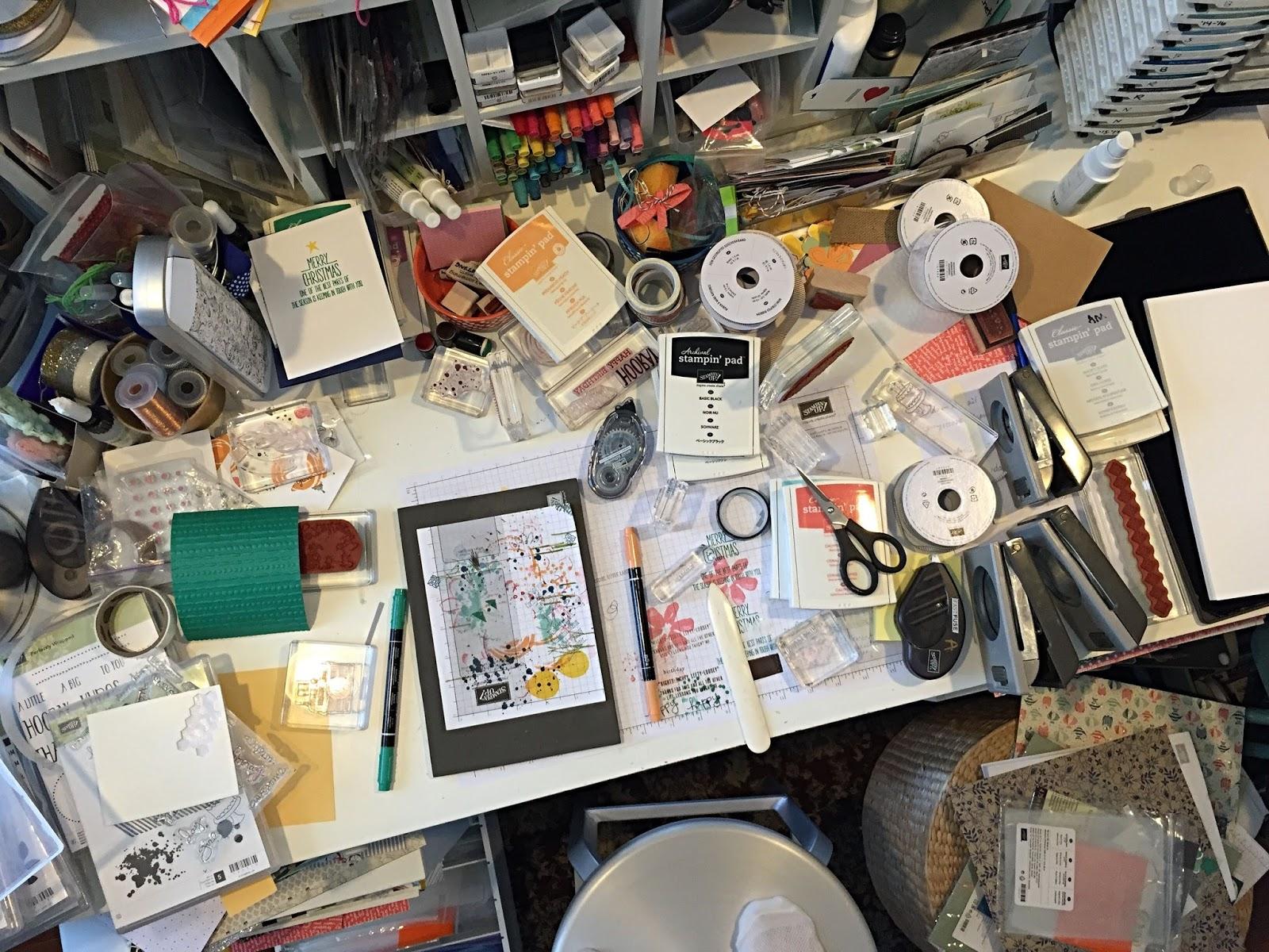 The Crafty Yogi Crafty Organization A New Desk