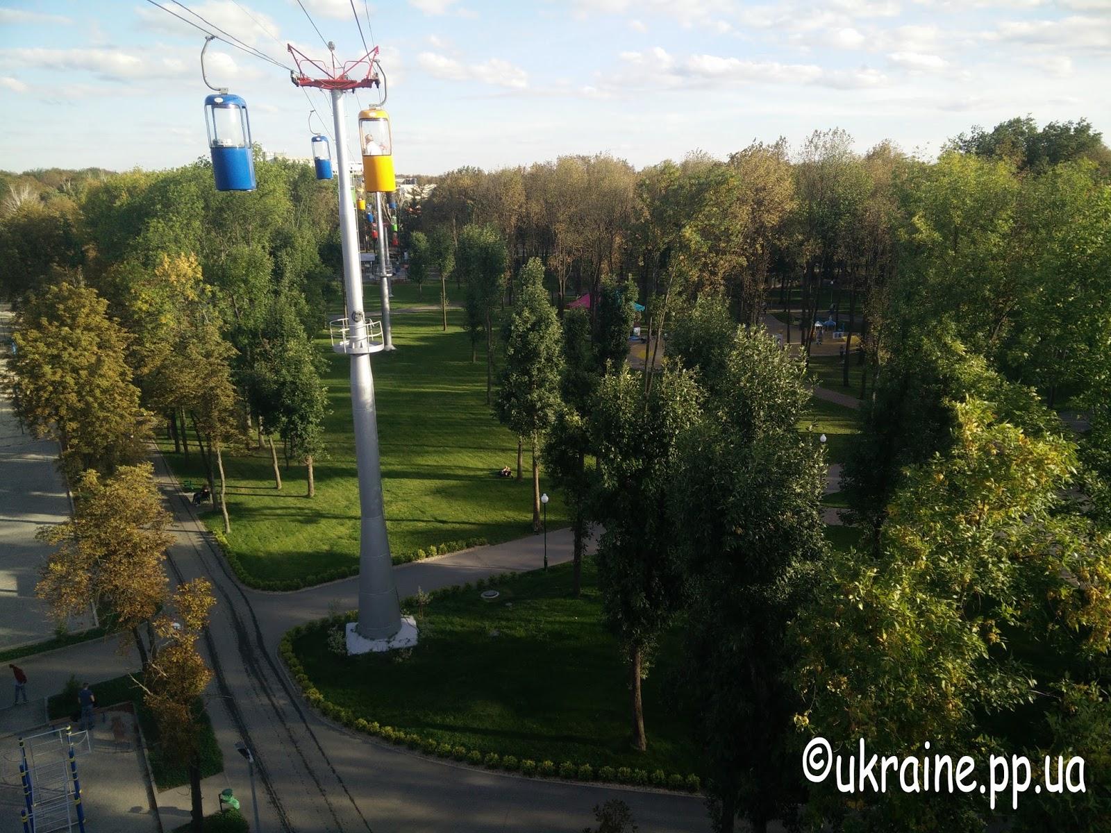 Парк Горького в Харькове фото