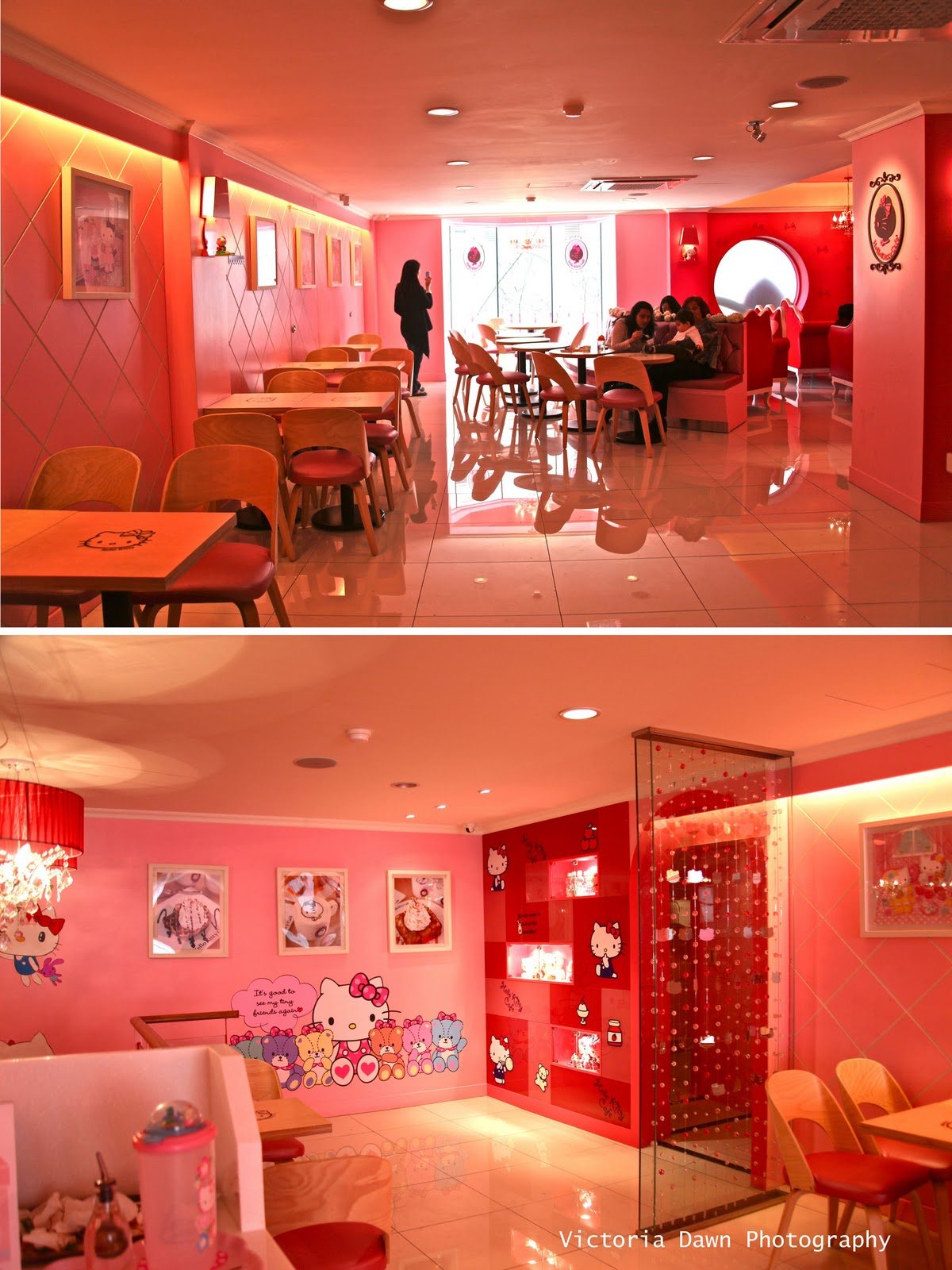 All About Girls Hello Kitty Cafe At Seoul