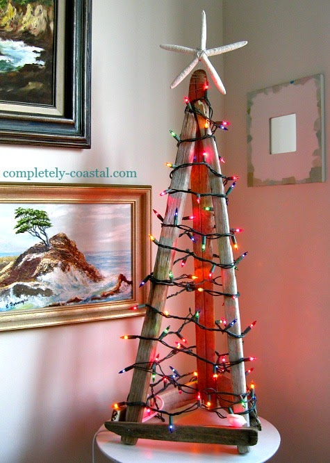 teepee tabletop tree