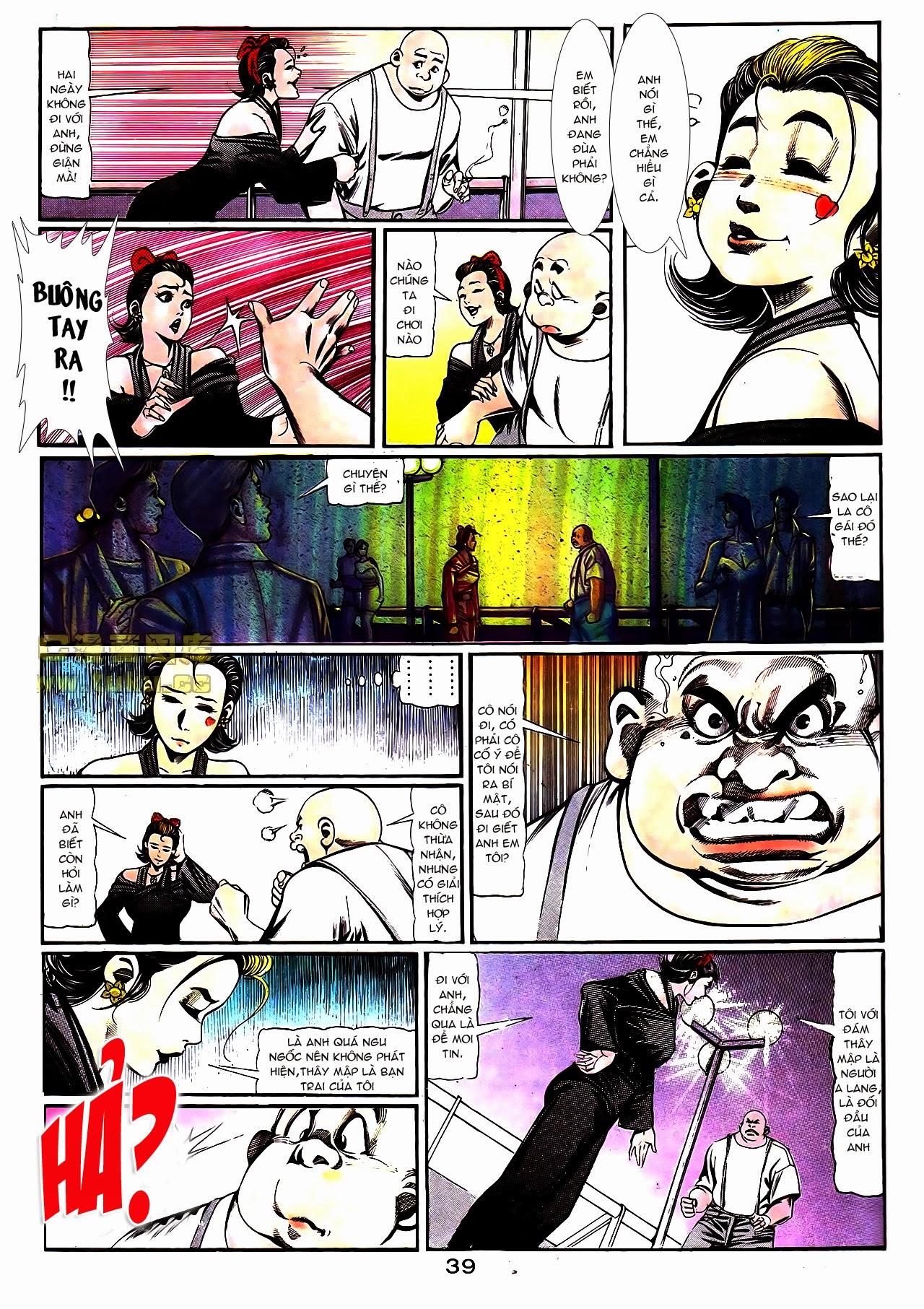 Người Trong Giang Hồ chapter 108: phong vũ cố nhân lai trang 14