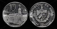 10 cents - Cuban Convertible Peso - CUC