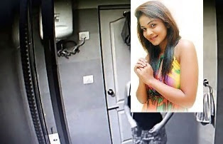 Suleka jayawardena Dehiwala Hidden camera shooter