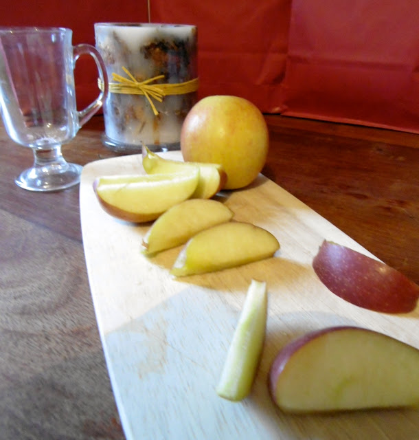party drink recipe - apples