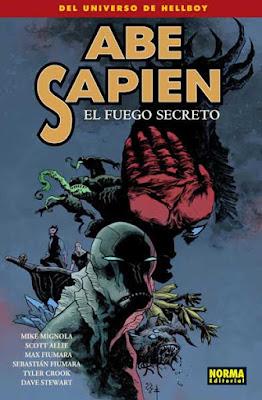 Abe Sapien - El Fuego Secreto / Novedades Mayo 2017 Norma Editorial