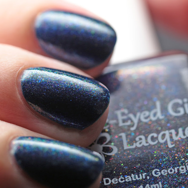 Blue-Eyed Girl Lacquer Lighting the Way