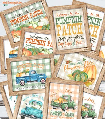 Our current reader favorite? FALL PUMPKIN PATCH PRINTABLES: