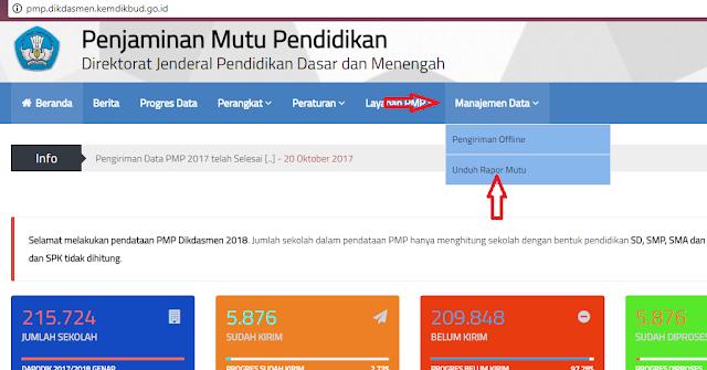 Cara Download Prefill Rapor Mutu untuk PMP