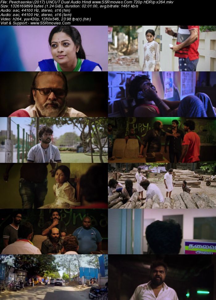 Peechaankai (2017) UNCUT Dual Audio Hindi 480p BluRay 400MB ESubs Movie Download