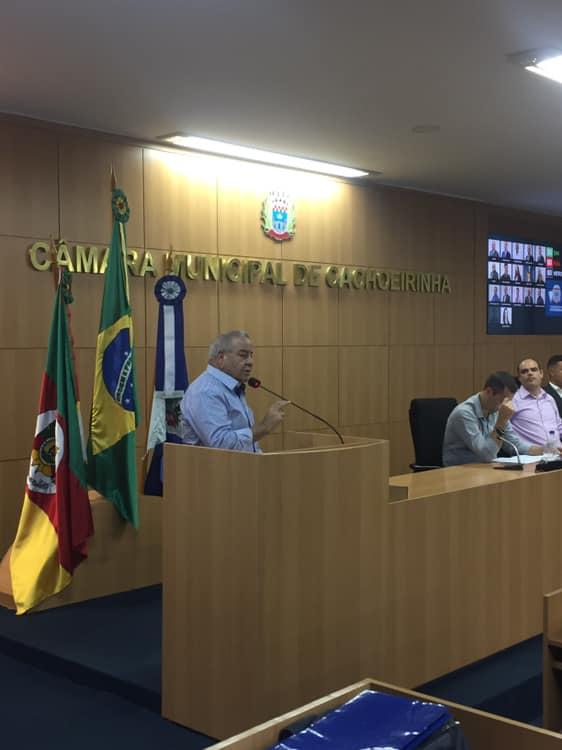 CACHOEIRINHA | Gattini assume coordenação da Frente do Transporte Público