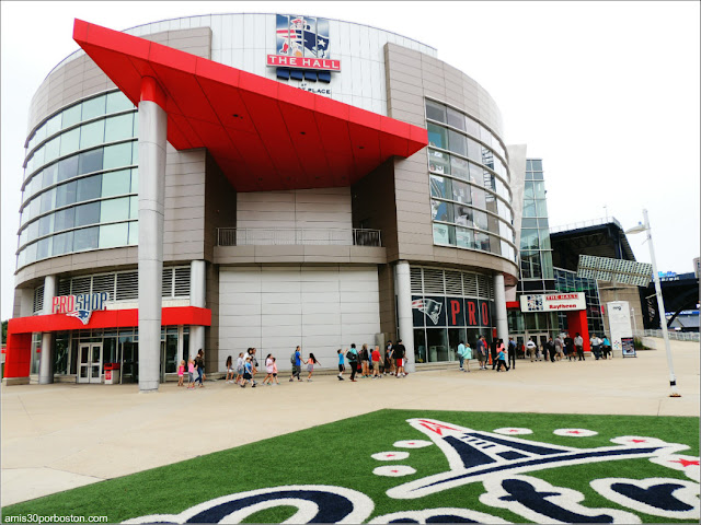 The Hall at Patriot Place en el Gillette Stadium en Foxborough, Massachusetts