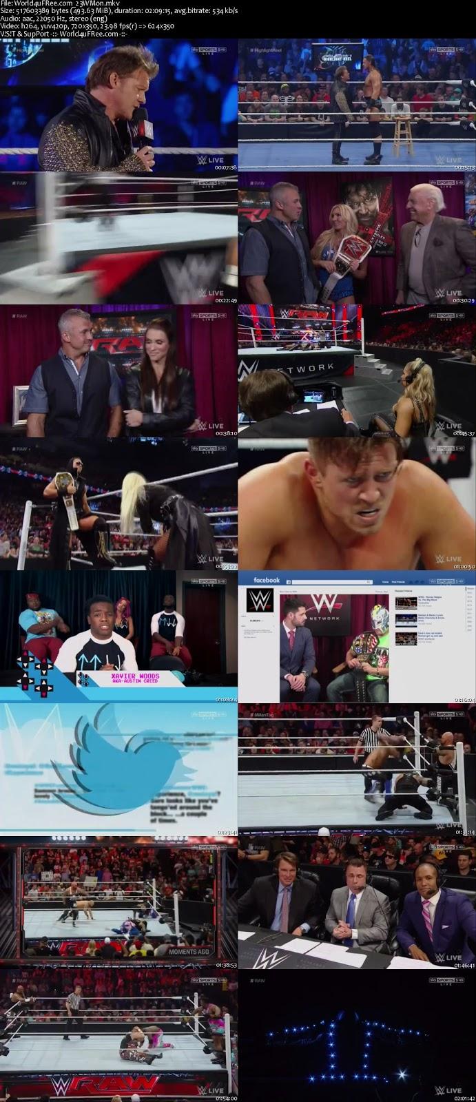 WWE Monday Night RAW 23 MAY 2016 HD free Download