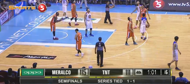Meralco def. TNT KaTropa, 119-113 (REPLAY VIDEO) October 1 - SEMIS Game 3
