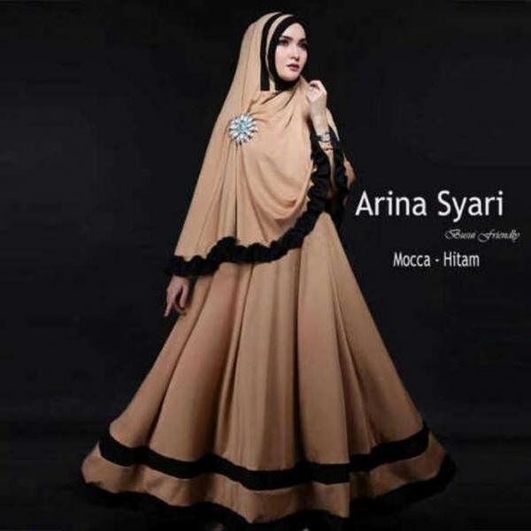 Jual Baju Busana Muslim Gamis Arina Syari