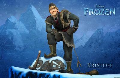 Entertainment Memorabilia Frozen Walt Disney Movie Promo Poster Anna Elsa Sven Kristoff No.3 To Be Highly Praised And Appreciated By The Consuming Public Originals-international