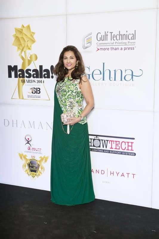 Simran Shroff, Masala! Awards 2014 Photo Gallery