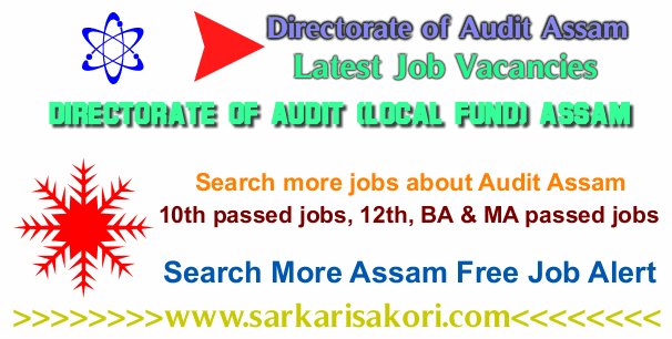 Directorate of Audit Assam Recruitment logo