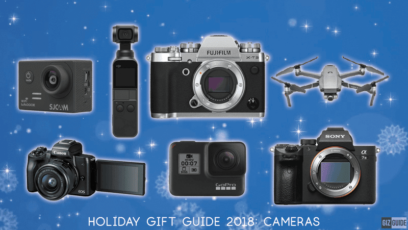 Holiday Gift Guide 2018: Cameras for everyone this Christmas!