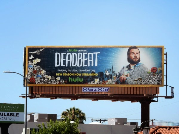Deadbeat season 2 billboard