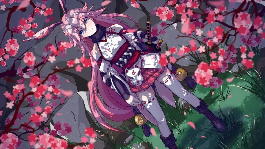 Anime, Girl, Pink Hair, Yae Sakura, Honkai Impact 3rd, 4K ...