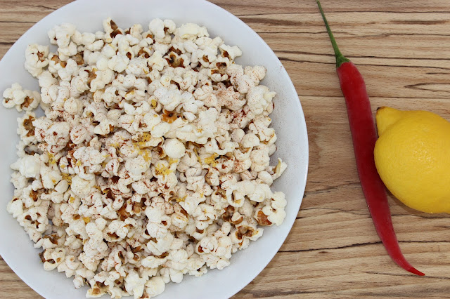 chilli lemon popcorn