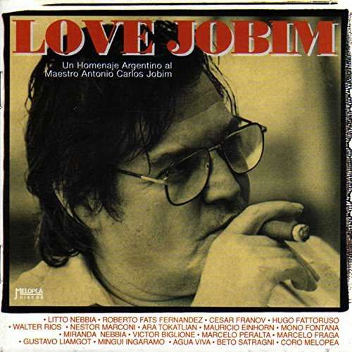 Love Jobim CD de Nebbia.  homenaje a Jobim