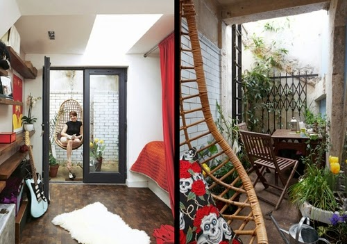 06-Bedroom and Garden-Underground-Public-Toilet-1-Bed-Flat-Apartment-Crystal-Palace-London-UK-Lamp-Architects-www-designstack-co
