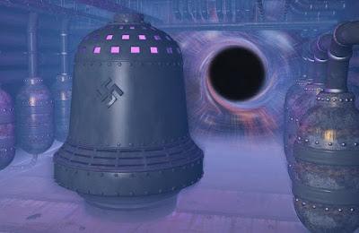 Un disegno della campana nazista
