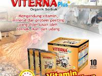 Vitamin Ternak Organik VITERNA Plus Serbuk - Vitamin Ternak Praktis dan Berkualitas Tinggi