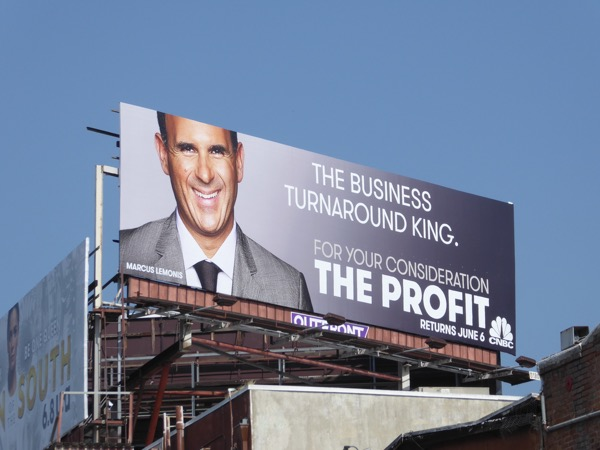 The Profit season 5 billboard