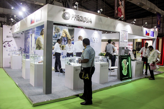 Preciosa Stall at IIFJAS Exhibition