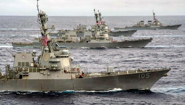 Αμερικανικά Πολεμικά πλέουν προς την Α.Μεσόγειο …για την Αποφυγή θερμής κρίσης μεταξύ Τουρκίας, Ελλάδας και Κύπρου