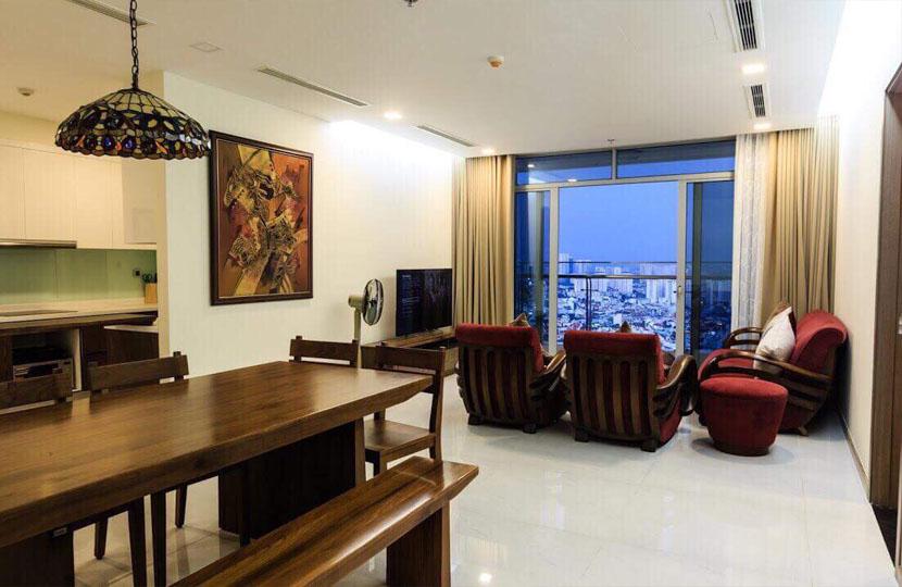 Park 4 Vinhomes cho thuê căn hộ 4 phòng ngủ view trực diện công viên