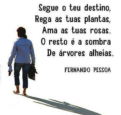 Frase do dia de Fernando Pessoa poeta e escritor português