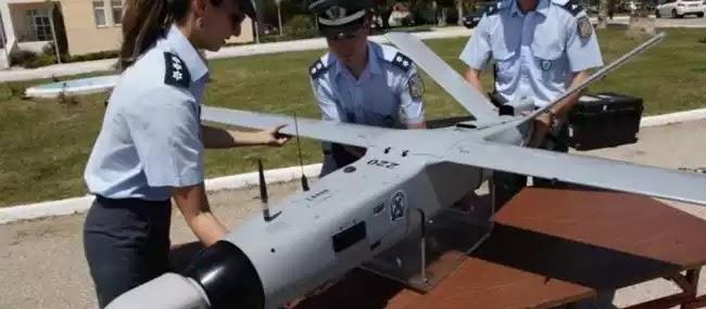 Χάθηκε το 1 από τα 2 υπερσύγχρονα drone της ΕΛ.ΑΣ. και βρέθηκε….σε ταράτσα στα Εξάρχεια