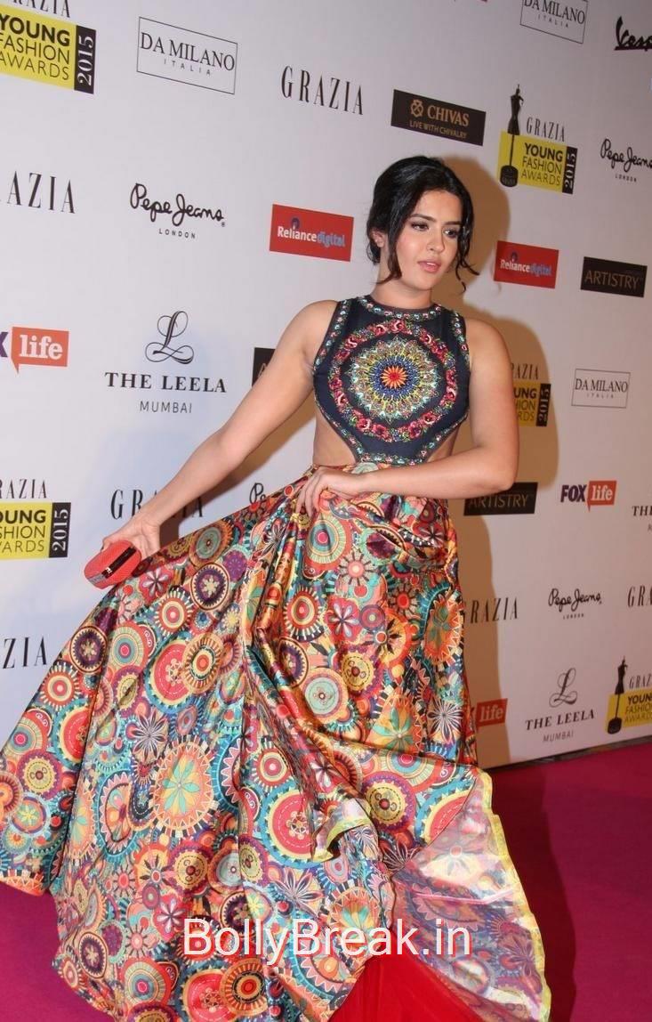 High Quality Deeksha Seth Pics, Deeksha Seth Hot Pics from Grazia Young Fashion Awards 2015