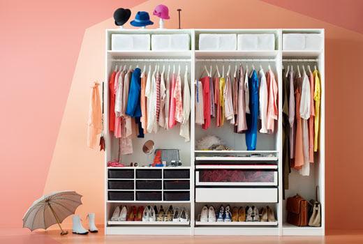 Five ways to reclaim master bedroom, bedroom, interiors, IKEA, PAX, Wardrobe