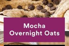 Mocha Overnight Oats Recipe