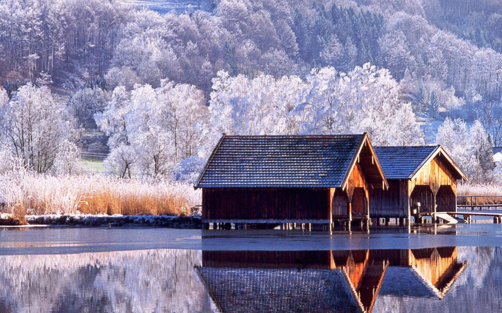 Wallpapers: Beautiful Winter Scenery Wallpapers