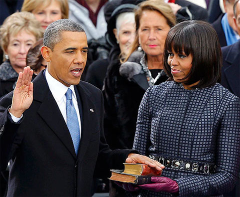 President Barack H. Obama Inauguration Full Transcript Speech 2013