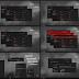 Maxtri Dark Red Theme For Windows10 Anniversary Update 1607