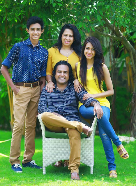 Nalin perera and family