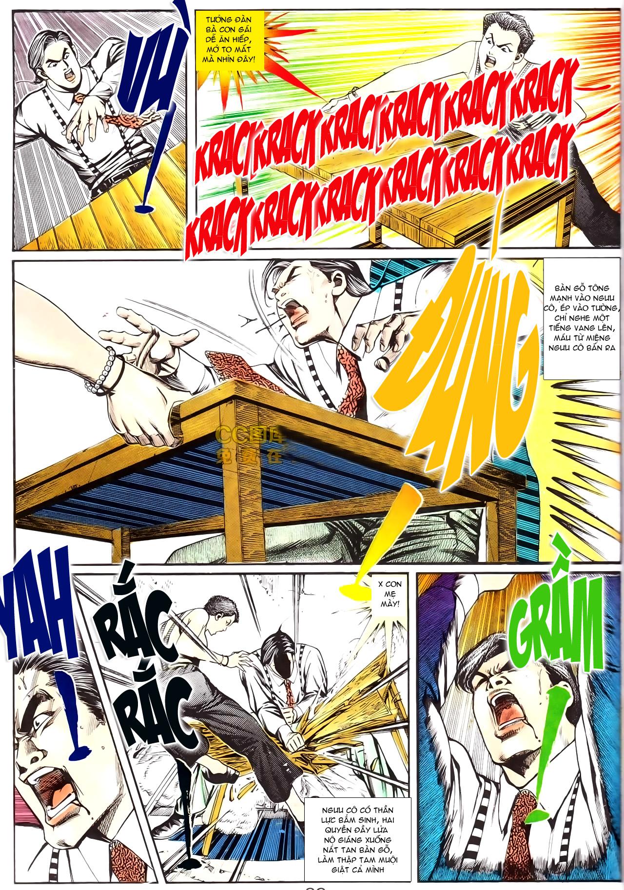 Người Trong Giang Hồ chapter 169: kết cục khủng long trang 15
