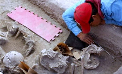 Dozens of 800-year-old skeletons discovered in Mexico