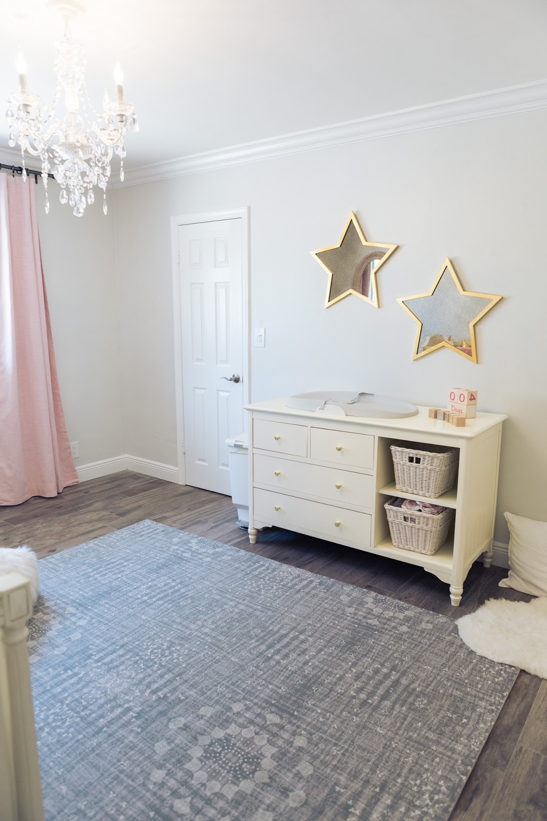 Baby Girl Nursery ideas from popular blogger, The Celebration Stylist