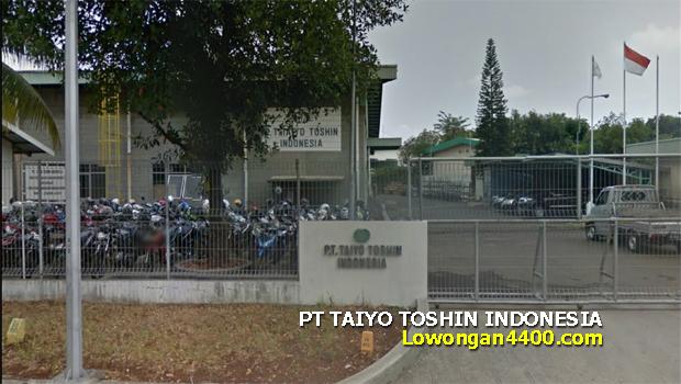 Lowongan Kerja PT. Taiyo Toshin Indonesia Kawasan MM2100